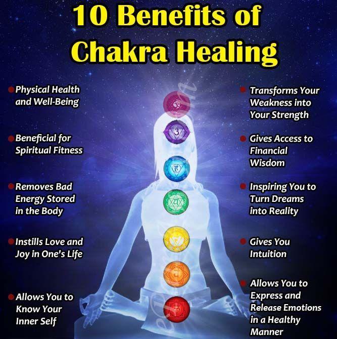 benefits of chakra healing